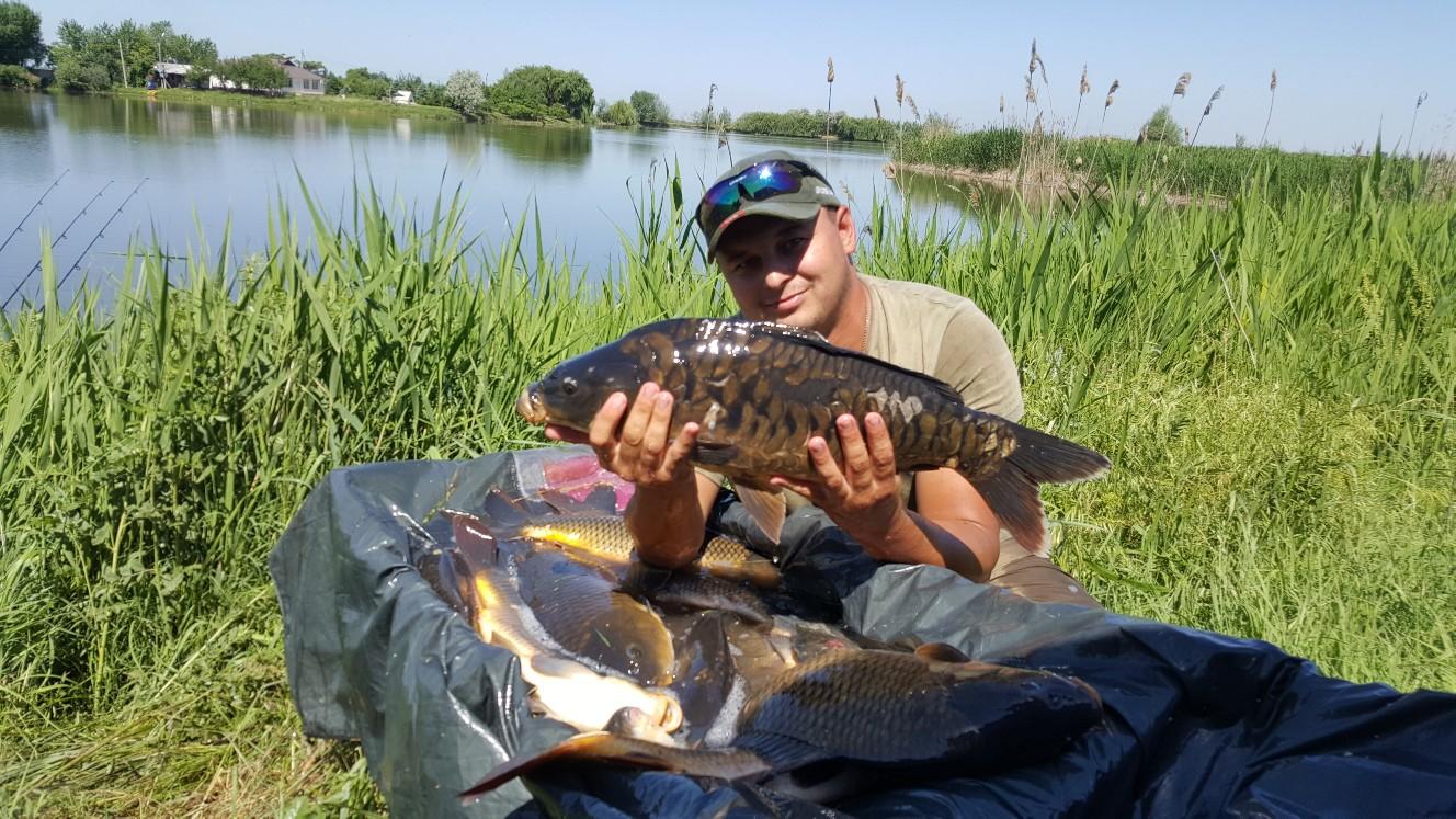 Рыбалка на базе отдыха Каспийский плав