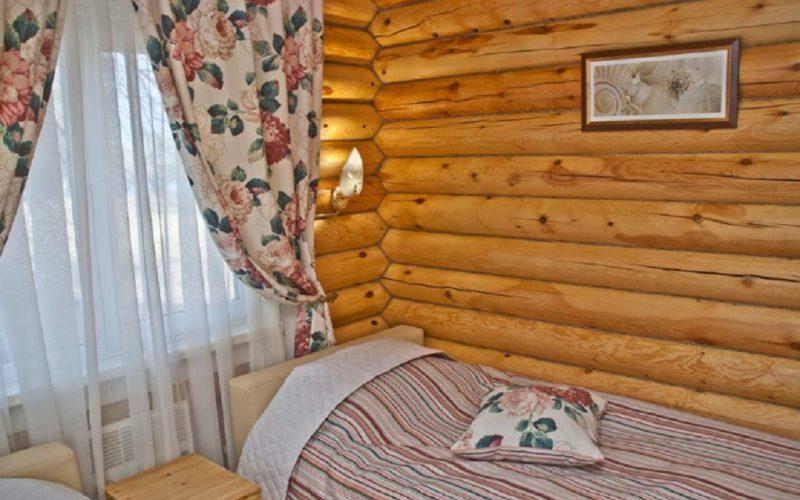 Спальная комната на базе отдыха